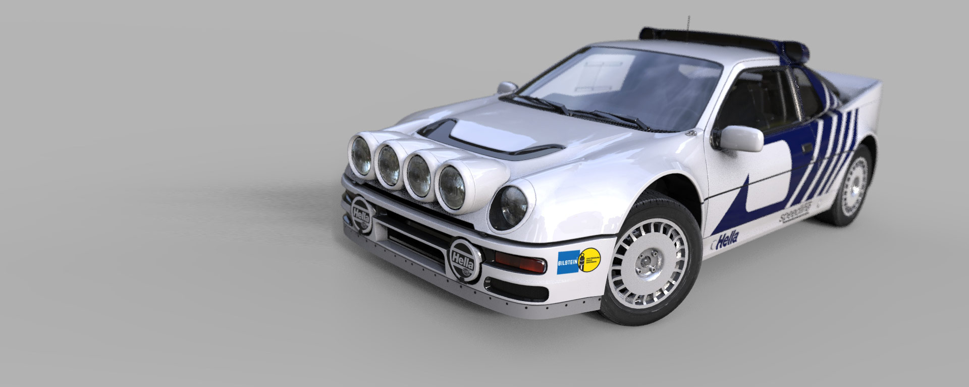 EVO200 Rally Replica – Build your own Ford RS200 race car